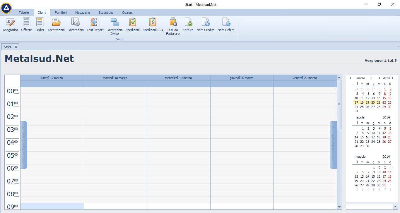 MetalSudNet - Software Gestionale Contabilità e Cicli di Lavoro